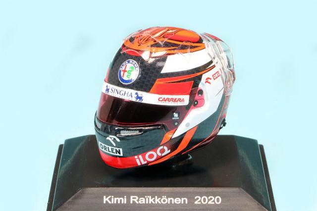 スパーク 1/8 ヘルメット K.ライコネン アルファ ロメオ 2020 HSP054