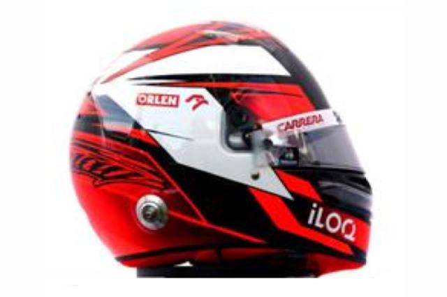 [予約] スパーク 1/8 ヘルメット K.ライコネン アルファ ロメオ 2020 HSP054