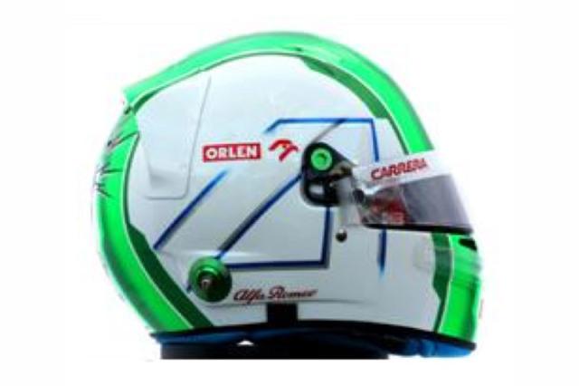 [予約] スパーク 1/8 ヘルメット A.ジョビナッツィ アルファ ロメオ 2020 HSP055