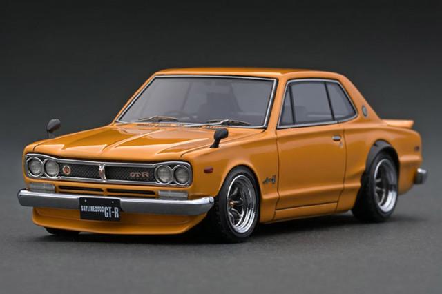 [取り寄せ] イグニッションモデル 1/43 ニッサン スカイライン 2000 GT-R KPGC10 ブラウン IG1931