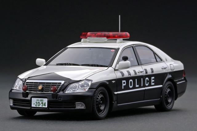 [取り寄せ] イグニッションモデル 1/43 トヨタ クラウン GRS180 静岡県警察交通機動隊 55号 IG2094