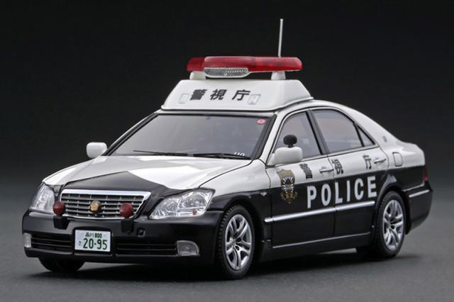 [取り寄せ] イグニッションモデル 1/43 トヨタ クラウン GRS180 警視庁自動車警ら隊 110号 IG2095