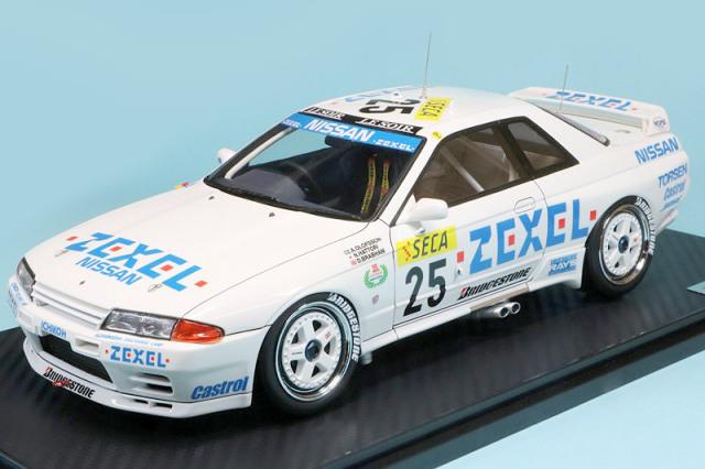 イグニッションモデル 1/18 ZEXEL スカイライン GT-R スパ 24h 1991 No.25 IG2113