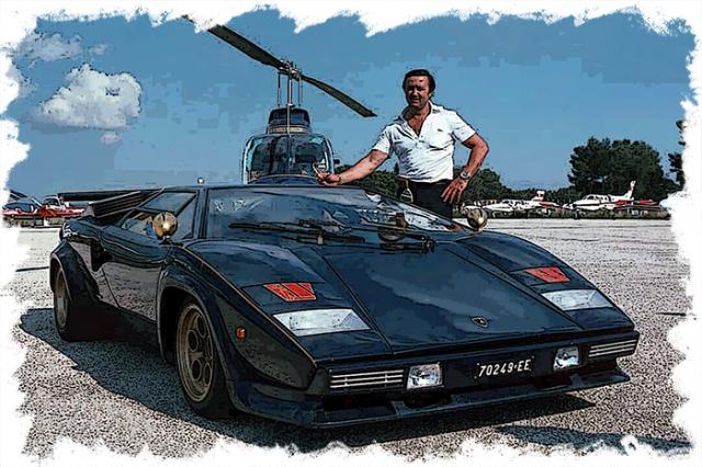 """[予約] イデア 1/18 ランボルギーニ カウンタック LP400S プロトタイプ """"ウォルターウルフ3号車""""1980 IM054C"""