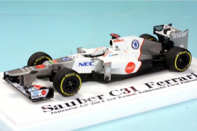 ロムファクトリー 1/43 Japanese GP 2012 3rd  K.K ハイディティール完成品 RFKMI-2012