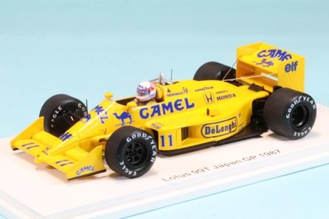 ロム特注スパーク 1/43 ロータス 99T 日本GP 1987 中嶋悟 限定420台 ROMU036 ROMU036