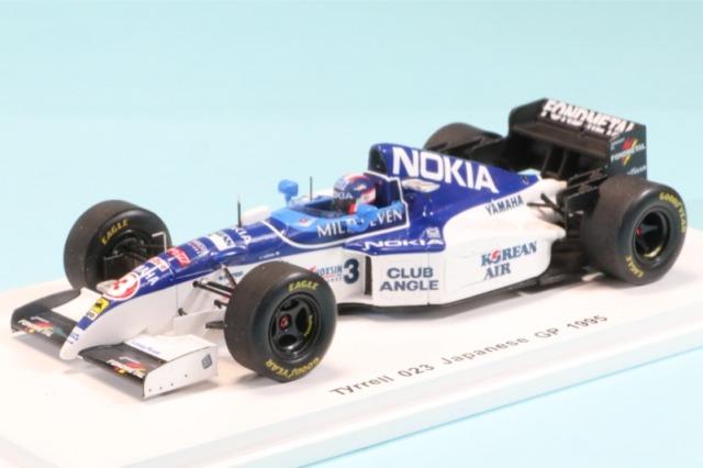 ロム特注スパーク 1/43 ティレル 023 日本GP 1995 片山右京 限定400台中304台 ROMU024