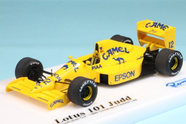 ロムファクトリー 1/43 ロータス 101 ジャッド オーストラリアGP 1989 中嶋悟 ファーステストラップ RFTMK114_KC