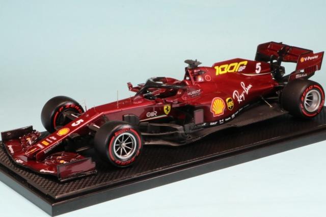 個人製作完成品 委託販売品 1/20 フェラーリ SF1000 トスカーナ ムジェロGP 2020 S.ベッテル RF0516Rd09_MS