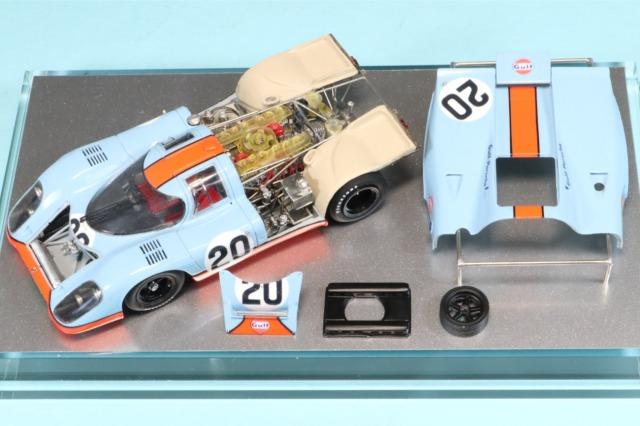 ロムファクトリー 1/43 ポルシェ 917K ルマン 1970 栄光のルマン仕様 スティーブ・マックイーン  (役名:マイケル・ディレイニー)  バージョンアップワンオフ RFK602VU_KI