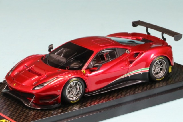 BBR 1/43 フェラーリ 488 GT3 2020 メタリックレッド BBRC238RF