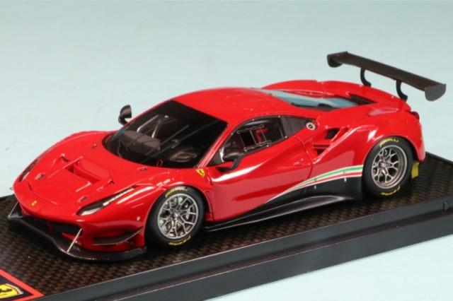 BBR 1/43 フェラーリ 488 GT3 2020 ロッソコルサ322 BBRC238RS