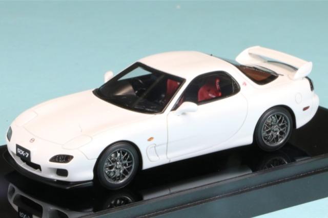 ヴィジョン 1/43 マツダ RX-7 (FD3S) タイプRZ 2000 スノーホワイトパールマイカ (限定175台、国内販売100台) VM221