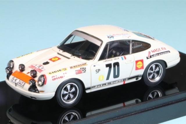 """ヴィジョン 1/43 ポルシェ 911 R """"ポルシェシステム"""" ツールドコルス 1969 ウィナー No.70 VM199"""
