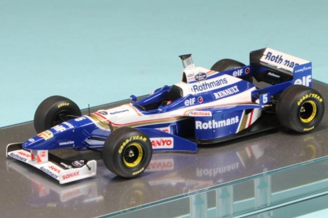 [予約] ロムファクトリー 1/43 ウィリアムズ FW18 アルゼンチンGP 1996 D.ヒル ハイグレード Ver. RFTMK215GU_I