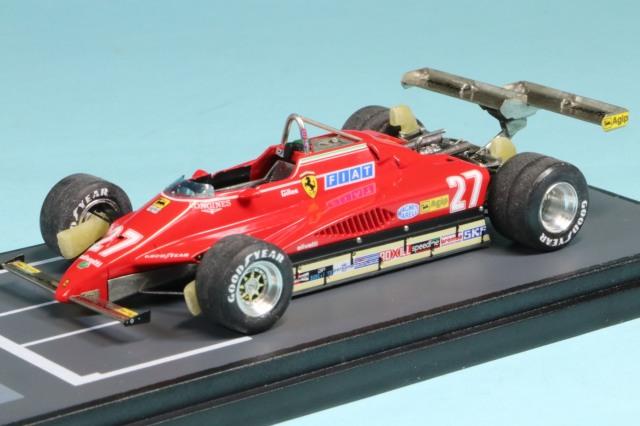 [受注製作見本] 1/43 フェラーリ 126C2 ロングビーチ GP 1982 G.ヴィルヌーブ RFTMK320_KI