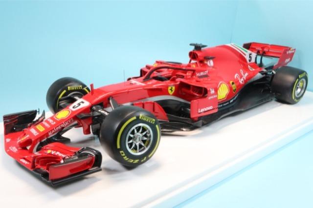 個人製作完成品 委託販売品 1/12 フェラーリ SF71H バーレーン GP S.ベッテル ウィナー RFK670BTO