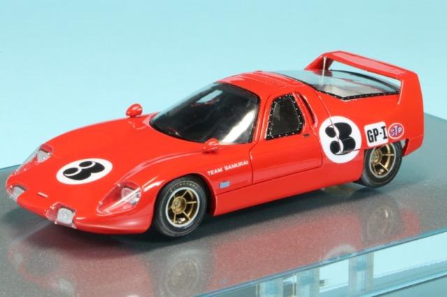 [受注製作見本] ロムファクトリー 1/43 ヒノ サムライ 日本GP 1967 No.3 RFGPF1
