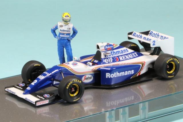 ロムファクトリー 1/43 ウィリアムズ FW16 パシフィックGP 1994 A.セナ ハイグレードモデル ワンオフ RFTMK180P_TI