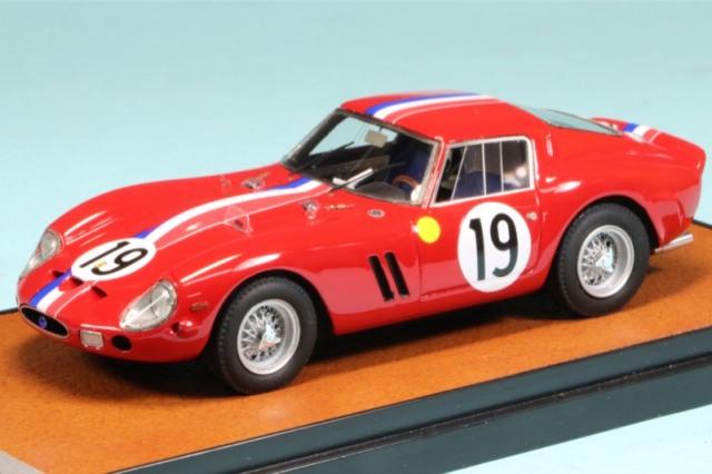 BBR 1/43 フェラーリ 250 GTO ルマン 1962 No.19 ウィナー BBR260