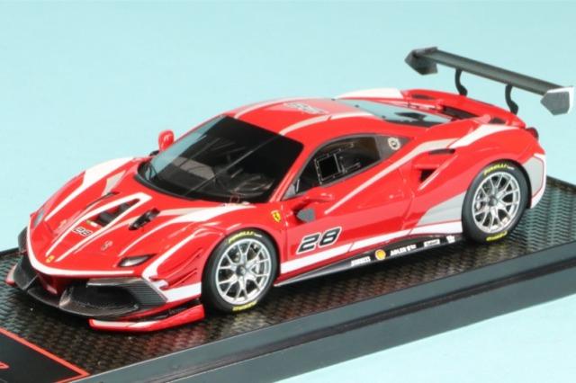 BBR 1/43 フェラーリ 488 チャレンジ 2020 レッド BBRC237