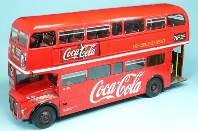 ロムファクトリー 1/24 AEC・ルートマスター ロンドンバス コカコーラ RFR07651_SK