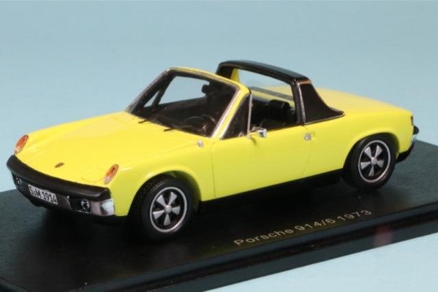 スパーク 1/43 ポルシェ 914/6 1973 イエロー S4562