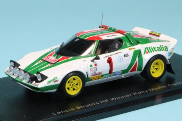 スパーク 1/43 ランチア ストラトス HF モンテカルロラリー 1977 Winner No.1 S9090