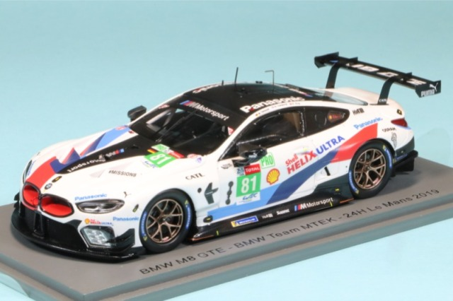 スパーク&TSM 1/43 BMW M6 ルマン 2019 No.81 TSM430473