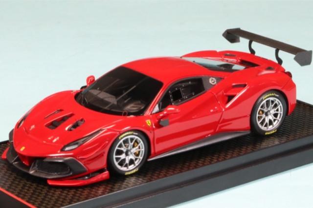BBR 1/43 フェラーリ 488 チャレンジ 2000 レッド BBRC237E
