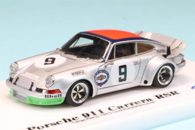 [受注製作見本] ロムファクトリー 1/43 ポルシェ 911 カレラ RSR タルガフローリオ 1973 No.9 RFARE505