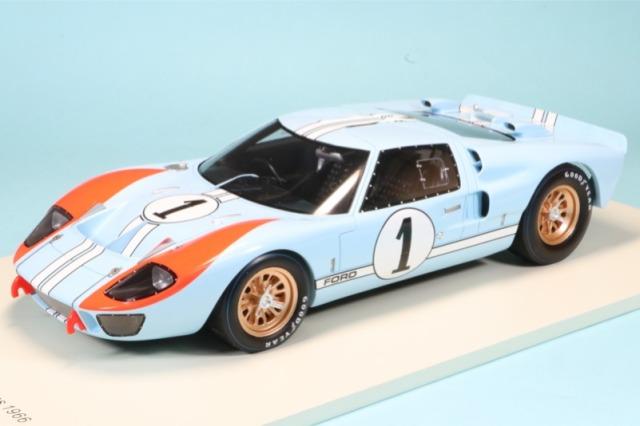 スパーク 1/18 フォード GT40 Mk.2 ルマン 24h 1966 2nd No.1 18S515