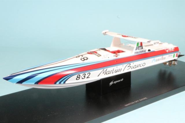 スパーク 1/43 MARTINI OFF SHORE パワーボート S2301