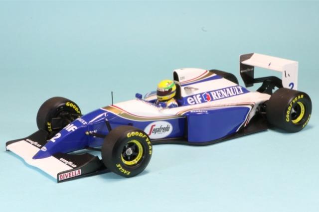 ミニチャンプス 1/18 ウィリアムズ FW16 サンマリノGP 1994 A.セナ ラストレース 540941832