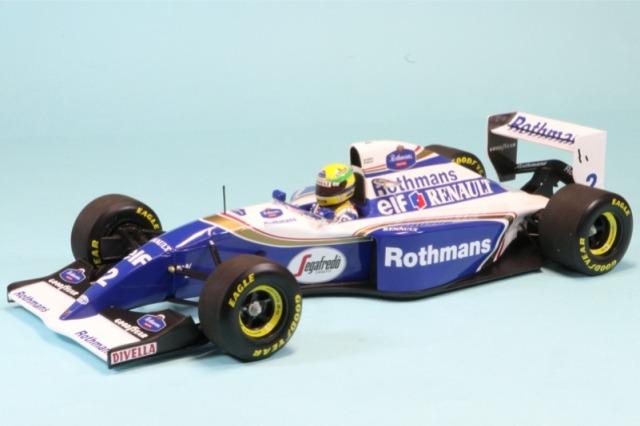 ミニチャンプス 1/18 ウィリアムズ FW16 サンマリノGP 1994 A.セナ ラストレース デカール加工品 540941832S