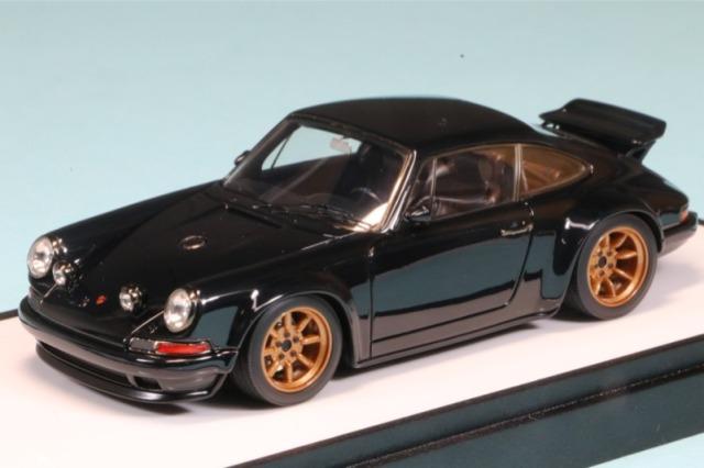 ヴィジョン 1/43 シンガー 911(964) クーペ (ウィングアップ) ブラック VM203