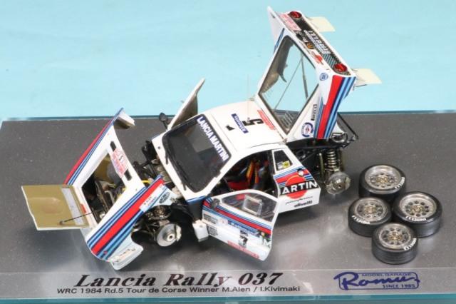[受注製作見本] ロムファクトリー 1/43 ランチア ラリー 037 WRC 1984 Rd.5 ツールドコルス No.5 M.アレン I.キビマキ RFK558_KI