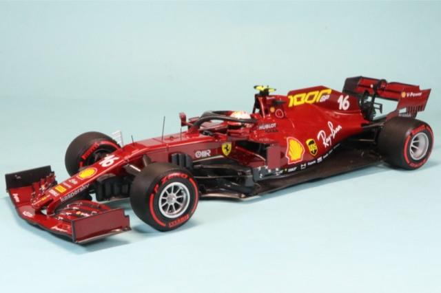 """BBR 1/18 フェラーリ SF1000 トスカーナー ムジェロGP 2020 """"フェラーリ F1 1000th GP"""" C.ルクレール BBR161000"""
