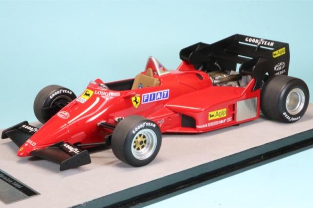 テクノモデル 1/18 フェラーリ 126 C4 プレス 1984 TM18-122C