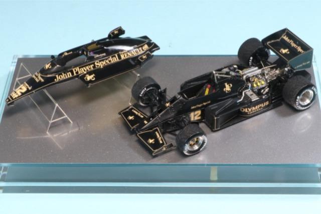 """ロムファクトリー 1/43 ロータス 97T ルノー ポルトガルGP 1985 Winner アイルトン・セナ """"初優勝"""" フルディティール RFK356KI"""