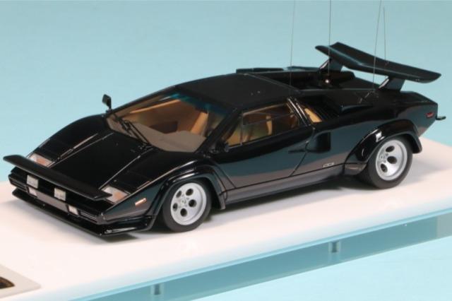 """アイドロン 1/43 ランボルギーニ カウンタック LP400S  Ch.1121112 """"C.R"""" 1981 EM448"""