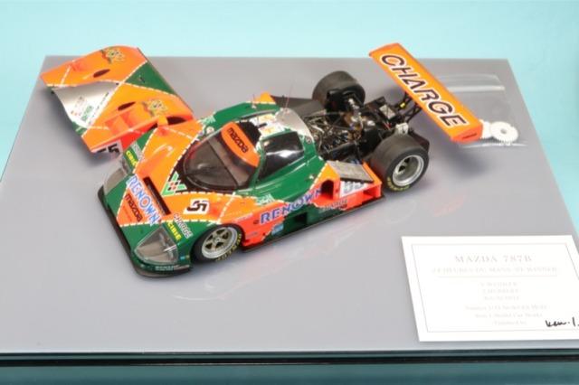 Ken1 Model Car Works 1/24 マツダ 787B ルマン 1991 No.55 ウィナー Ken-1_T24352