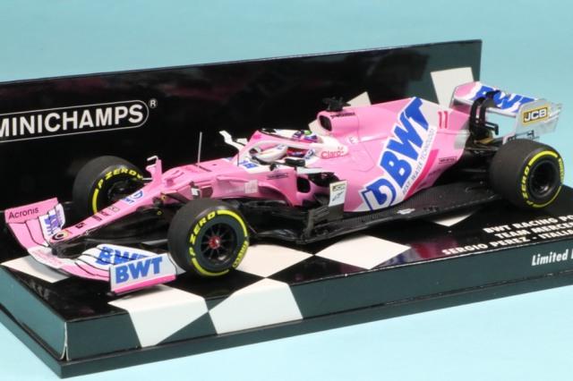 ミニチャンプス 1/43 BWT レーシングポイント F1チーム メルセデス RP20 イタリアGP 2020 S.ペレス 417200811