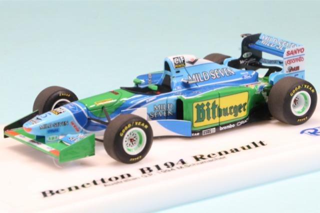 ロムファクトリー 1/43 ベネトン B194 オーストラリア GP 1994 M.シューマッハ RFTMK191_KC