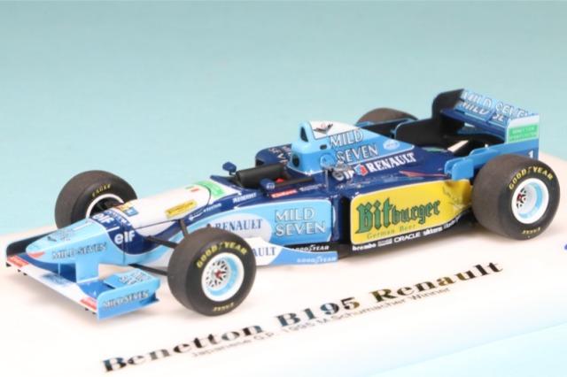 ロムファクトリー 1/43 ベネトン B195 日本 GP 1995 M.シューマッハ ウィナー RFTMK206_KC