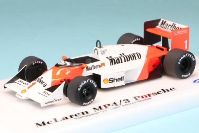 ロムファクトリー 1/43 マクラーレン MP4/3 ポルトガル GP 1987 A.プロスト ウィナー RFTMK289_KC