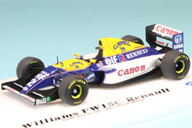 ロムファクトリー 1/43 ウィリアムズ FW15C 南アフリカ GP A.プロスト ウィナー RFTMK167_KC