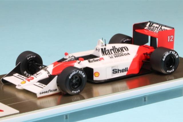 アイドロン 1/43 マクラーレン ホンダ MP4/4 日本GP 1988 No.12 A.セナ ウィナー ワールドチャンピオン デカール加工品 FE013AS