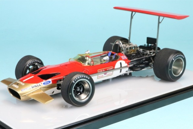 ロムファクトリー 1/20 ロータス 49B レース オブ チャンピオン 1969 G.ヒル RF20005TKD