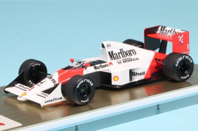 アイドロン 1/43 マクラーレン ホンダ MP4/5 日本GP 1989 No.1 A.セナ デカール加工品 FE022BS
